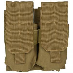 Mil-Tec Porte-chargeur double M4/M16 MOLLE Coyote