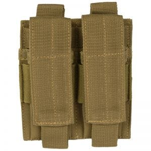 Mil-Tec Porte-chargeur de pistolet double Coyote