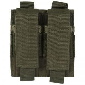 Mil-Tec Porte-chargeur de pistolet double vert olive