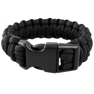 Mil-Tec Bracelet paracorde 15 mm noir