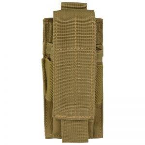 Mil-Tec Porte-chargeur de pistolet simple Coyote