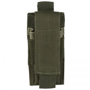 Mil-Tec Porte-chargeur de pistolet simple vert olive