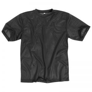 Mil-Tec T-shirt en mesh noir