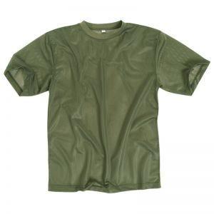 Mil-Tec T-shirt en mesh vert olive