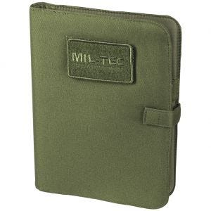 Mil-Tec Bloc-notes tactique taille moyenne vert olive