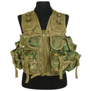 Mil-Tec Gilet tactique Ultimate Arid Woodland