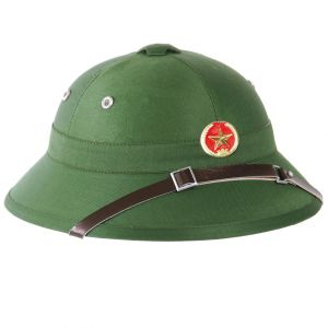Mil-Tec Casque tropical Viet Cong avec badge