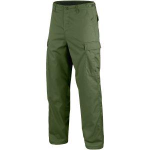 Mil-Tec Pantalon militaire BDU Ranger vert olive
