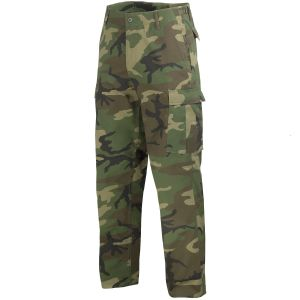 Mil-Tec Pantalon militaire BDU Ranger Woodland