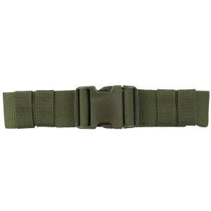 Mil-Tec Ceinture militaire à dégagement rapide 50 mm vert olive