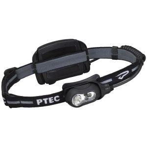 Princeton Tec Lampe frontale rechargeable Remix à LED blanche et boîtier noir