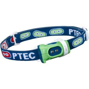 Princeton Tec Lampe frontale Bot à LED blanche et boîtier vert/bleu