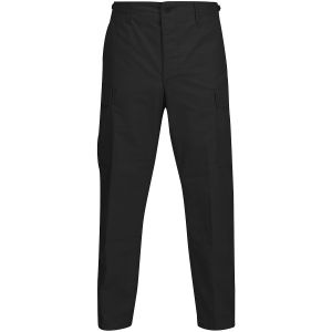 Propper Pantalon BDU en polycoton Ripstop avec braguette à boutons noir