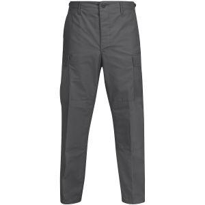 Propper Pantalon BDU en polycoton Ripstop avec braguette à boutons gris foncé