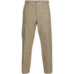 Propper Pantalon BDU en polycoton Ripstop avec braguette à boutons kaki
