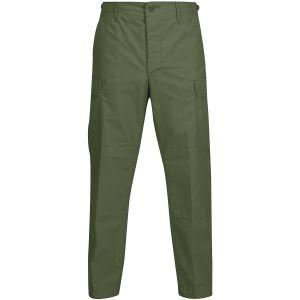 Propper Pantalon BDU en polycoton Ripstop avec braguette à boutons Olive Green