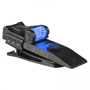 QuiqLite Lampe de poche Pro à LED bleue/blanche