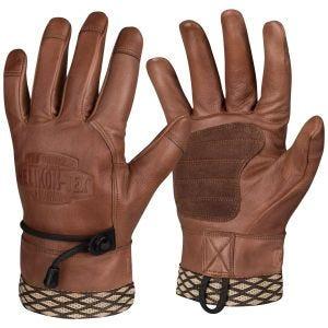 Helikon Woodcrafter Gloves U.S. Brown