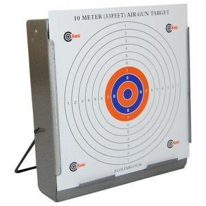 SMK Cible Porte-cible avec récupérateur de balle 17 x 17