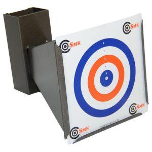 SMK Porte-cible conique avec récupérateur de balle 14 x 14