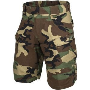 "Helikon Short tactique Urban 11"" US Woodland"
