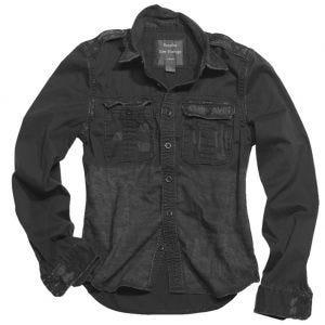 Surplus Chemise à manches longues Raw Vintage noire