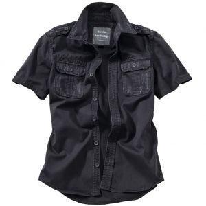 Surplus Chemise à manches courtes Raw Vintage noire