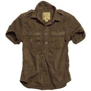 Surplus Chemise à manches courtes Raw Vintage marron