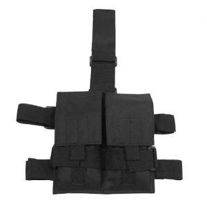 MFH Holster de cuisse avec porte-chargeur double noir