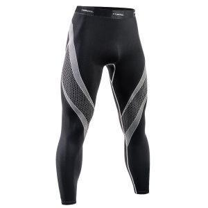 Tervel Legging de sport Optiline noir/gris clair