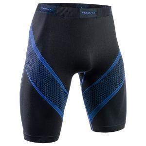 Tervel Short de sport Optiline noir/bleu