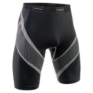 Tervel Short de sport Optiline noir/gris clair