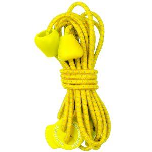 Ultimate Performance Lacets élastiques réfléchissants jaunes