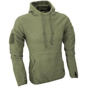 Viper Sweatshirt à capuche Tactical en polaire vert