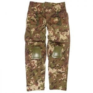 Mil-Tec Pantalon Warrior avec genouillères Vegetato Woodland