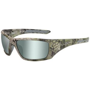 Wiley X WX Nash Glasses - Polarized Vert Platinum Flash Lens / Kryptek Altitude Frame