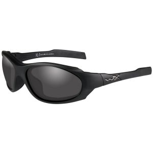 Wiley X XL-1 Advanced COMM Glasses - Smoke Grey + Clear + Light Rust Lens / Matte Black Frame
