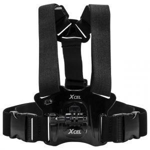 Xcel Harnais de poitrine avec fixation pour caméra noir