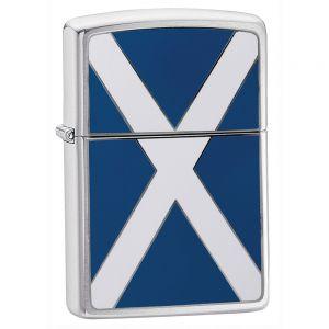 Zippo Briquet à motif drapeau écossais